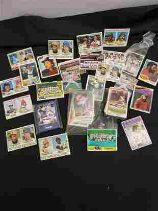 Lot of vintage baseball cards - 1970s and more