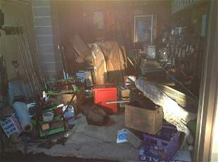 Diggers Delight! Entire Contents of Garage (not Ladder