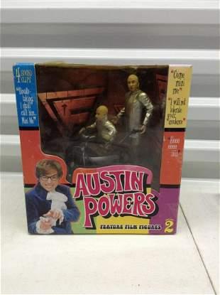Austin Powers Dr Evil & Mini Me In the box