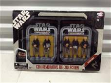 Star Wars Action Figures NIB with Commemorative Tin