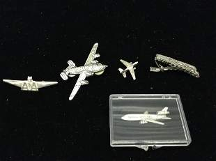 Various Plane and Pilot Pins