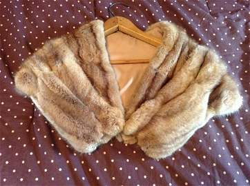 1950s Mink Shawl - very good condition