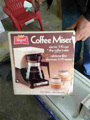 Regal Coffee Maker - New