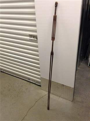 Hand Carved African Walking Stick 5ft tall
