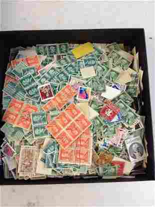 Large Amount of U.S. Stamps