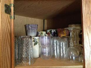 Contents of Cabinet Shelf