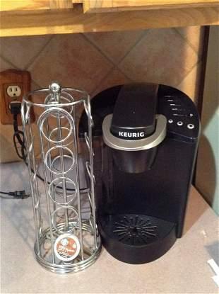 Keurig Coffee Machine and K-Cup Holder