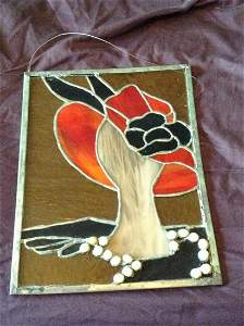 """Stained Glass Artwork 11x14"""""""