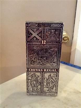 Chivas Regal 12 year Scotch 750ml in the box