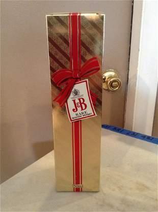 J&B Rare Scotch 750ml in the box
