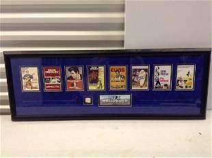 """Elvis Presley coa giveaway 39""""x14"""""""