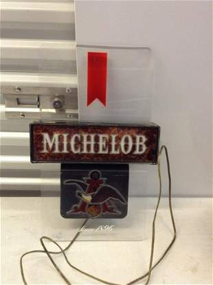 """Michelob light up sign working 18x12"""""""