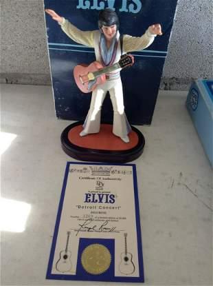 Elvis Detroit Concert Figure 1269/20,000 with COA