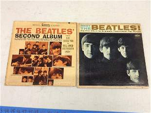 The Beatles first two albums