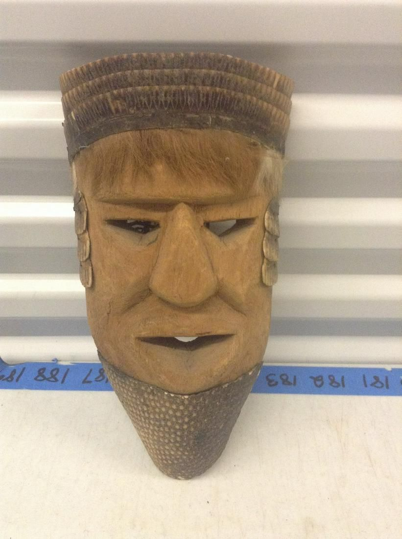 african face mask 13 inch