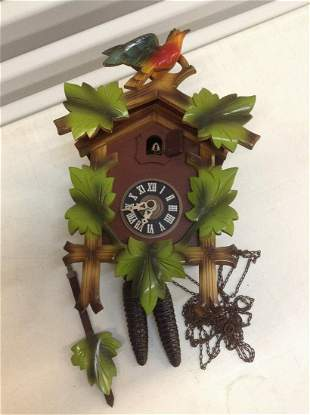 German Wood Cukoo Clock