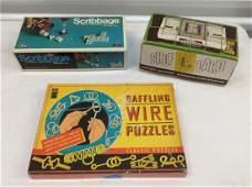 Vintage Games and Card Shuffler