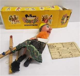 Vintage Pelham Puppets Marlbough Wilts with original