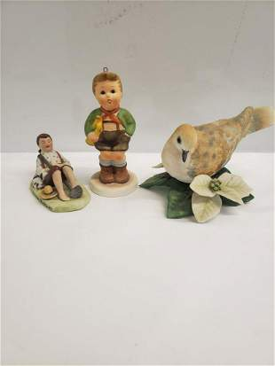 Lot of figurines - Lenox, Norman  Rockwell, and more