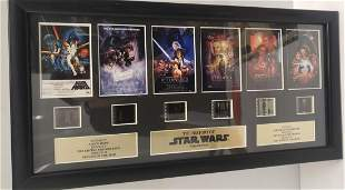 The History of Star Wars Original film cells