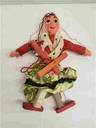 Hand made marionette