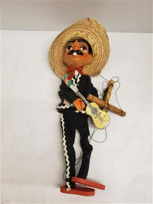 Hand Made Mexican Marionette