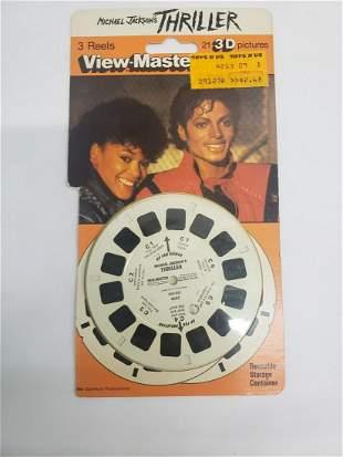 Michael Jackson's Thriller view-master reels -unopened