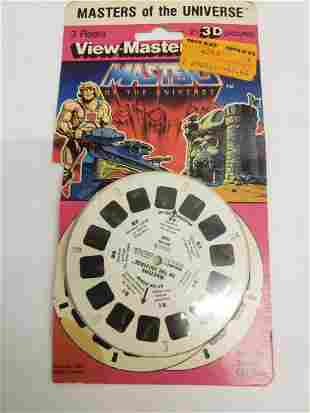 He-Man Masters of the Universe View-Master reels -