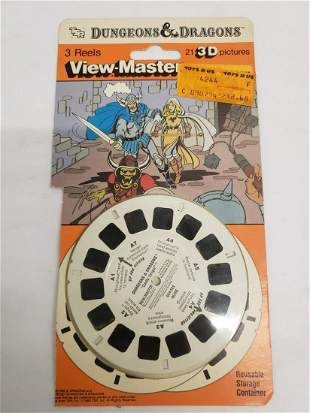 Dungeons & Dragons View-Master reels - unopened new in