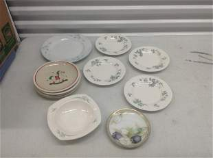 Large lot of Various Plates