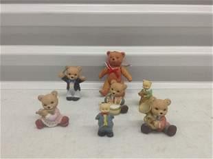 Lot of Vintage Teddy Bears