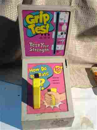 1980 Coin OP Arcade Games Grip Test 25 cent Metal