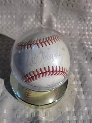 Signed Dale Murphy Baseball