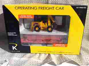 K-Line Lionel Operating Freight Car in Box