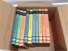 Box full of vintage books