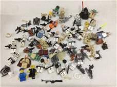 Large lot of Star Wars Lego Mini Figures