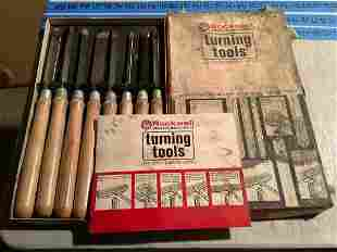 Rockwell Lathe Turning Tools in the box