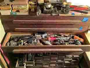 Drawer full of tools and more