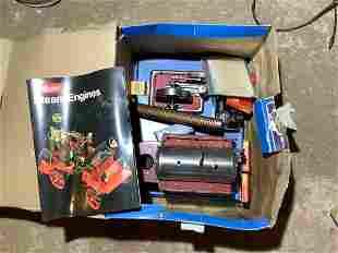 Wilesco Steam Engine in the box