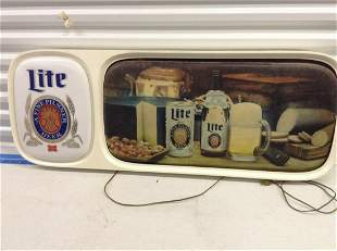 Light-up Beer Sign