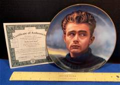 James Dean Plate #1087A, Hollywood Giant with CEO