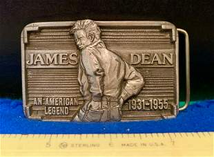 James DeanBelt Buckle, Limited Edition, no. 0035, Just