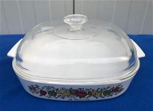 Pyrex A-12-6, Le Romarin casarol Dish, 12' handle to