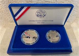 United States Liberty coin 1886-1986, Mint Proof Silver