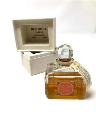 Vintage Perfume- Bellodgia Caron with orignal box