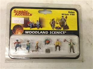 Woodland Scenics Hobos miniature figures