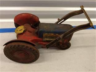 Vintage Metal Tractor