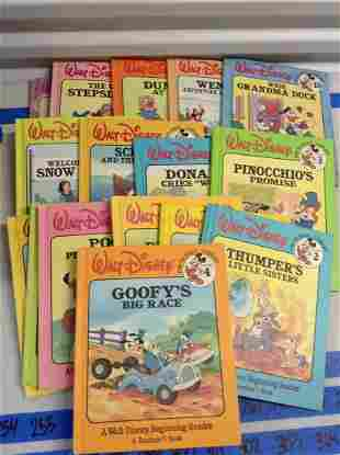 Lot of Vintage disney childrens books
