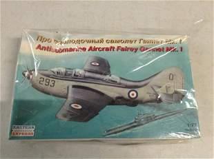 Anti Submarine Aircraft model complete