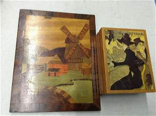 Wooden Wall Art and Music Box